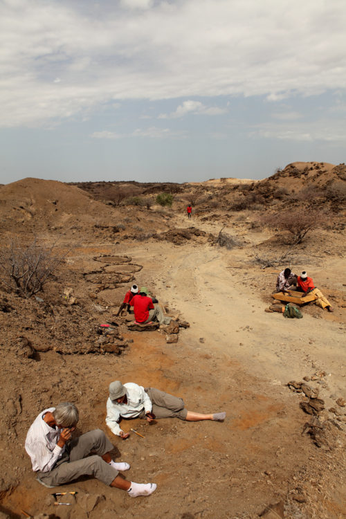 For five decades, the Koobi Fora Research Project team have uncovered unprecedented clues to our origins in the fossil exposures of the Lake Turkana Basin. Photo copyright Mike Hettwer, www.hettwer.com